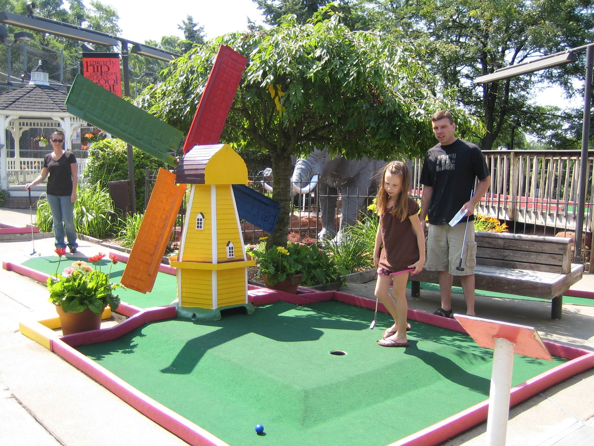 Batter Up: Mini-Golf and Go-Kart <br/>Facilities Score with Batting Cages