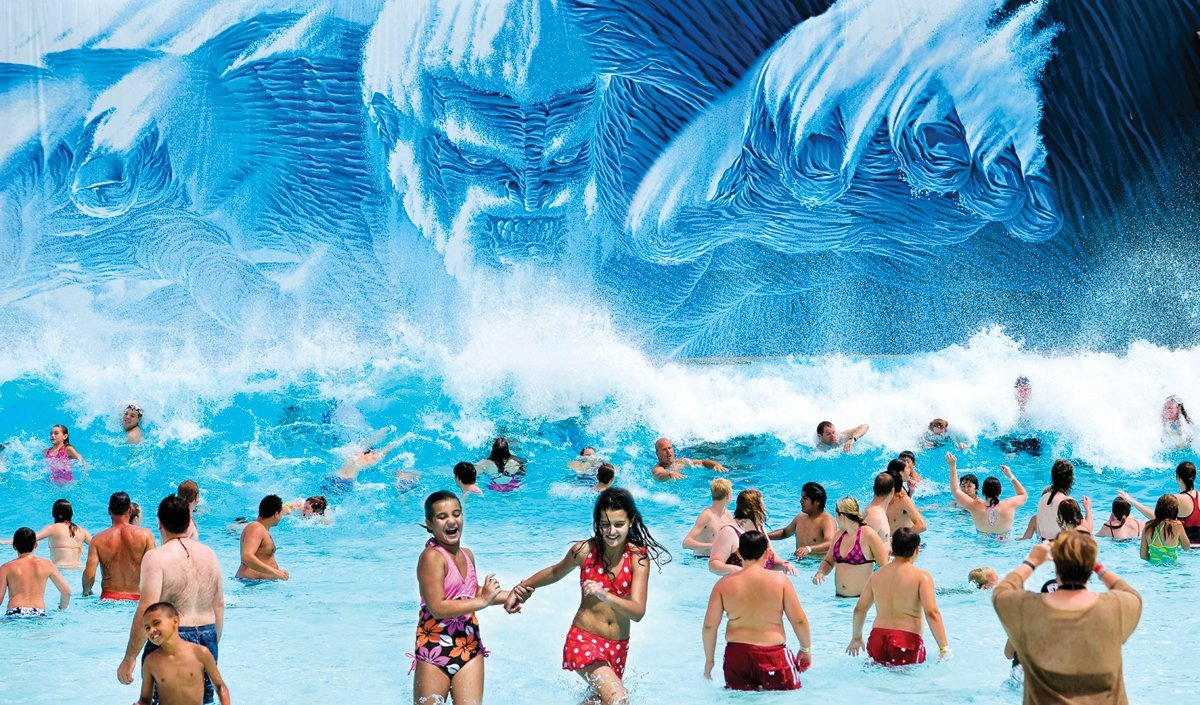 A Divine Place to Be:<br />Mt. Olympus Water & Theme Park