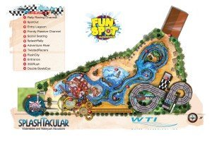 The Fun Spot USA waterpark site plan