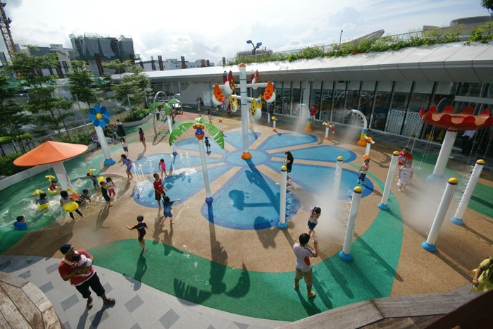 Empex Watertoys Inaugurates a New Terrace Spraypark