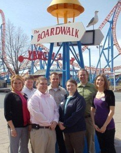The full-time staff in the Hersheypark Ride Operations Department.