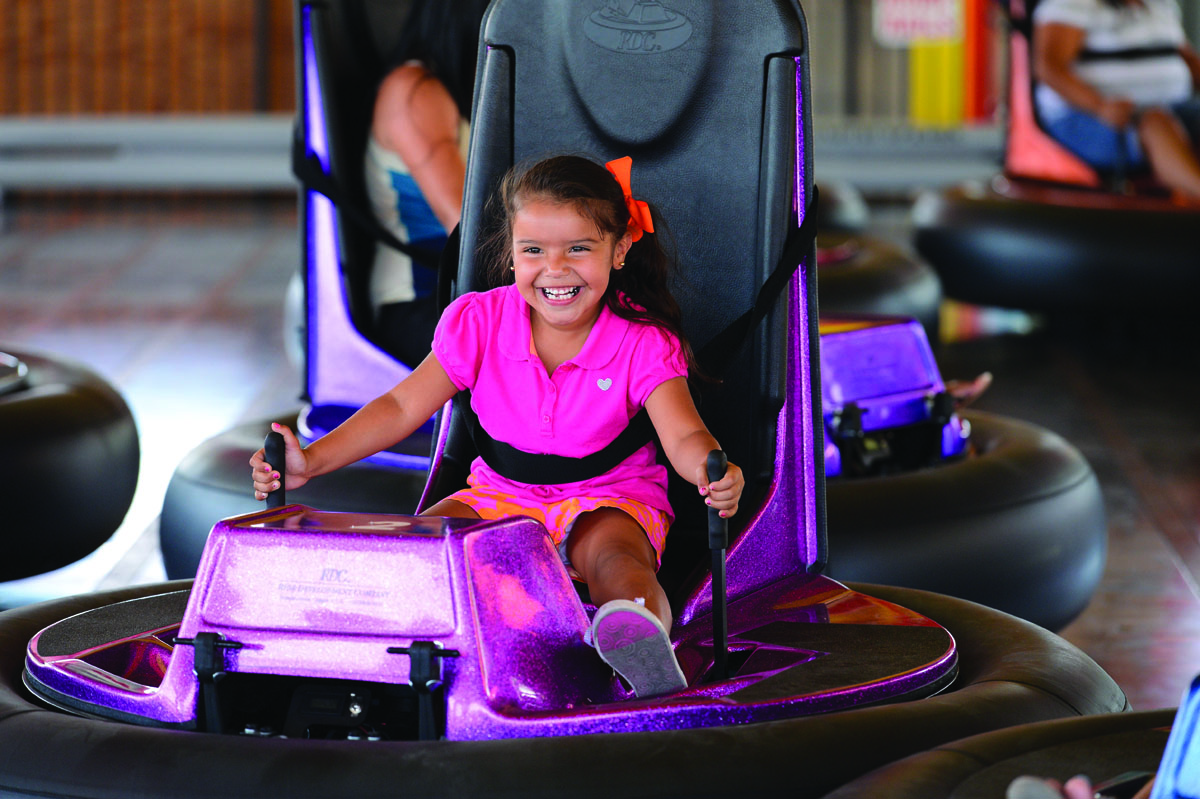 Powered Up for Fun <br/> How Bumper Cars Enhance the Guest Experience