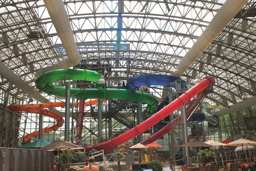 Year-round Destination Made Possible with an Indoor Waterpark