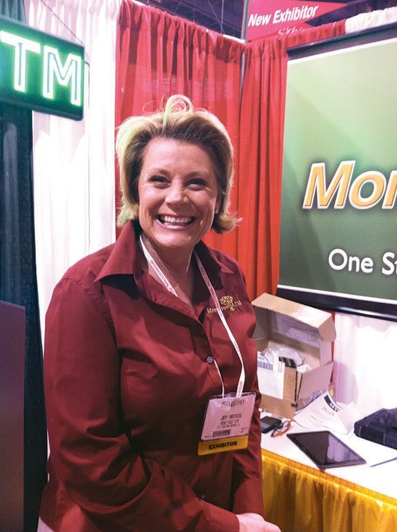 Sales Director Joy Mathis of Money Tree ATM.