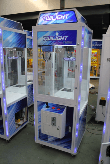 The Twilight crane is new from Coast to Coast Entertainment. It is a slimmer unit that fits well in any location.