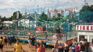A Davis Amusement Cascadia event. In 2014, the company will be reintroducing the Chance Zipper to its ride lineup, and also between two and 10 new game and foodconcessions.