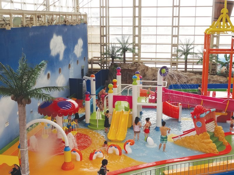 Spaworld Osaka adds Empex Custom Water Features