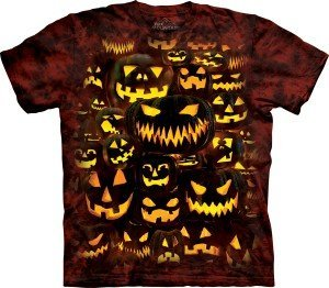 Halloween-themed T-shirts from The Mountain® can be a sure-selling addition to a haunted attraction's souvenir offerings.