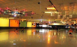 "At Cal Skate Rohnert Park in Rohnert Park, Calif., changes, including refurbished lighting with new strobe lights and music-driven flashing colored lighting, have been made to give late night sessions ""a more nightclub feel,"" according to the owner"