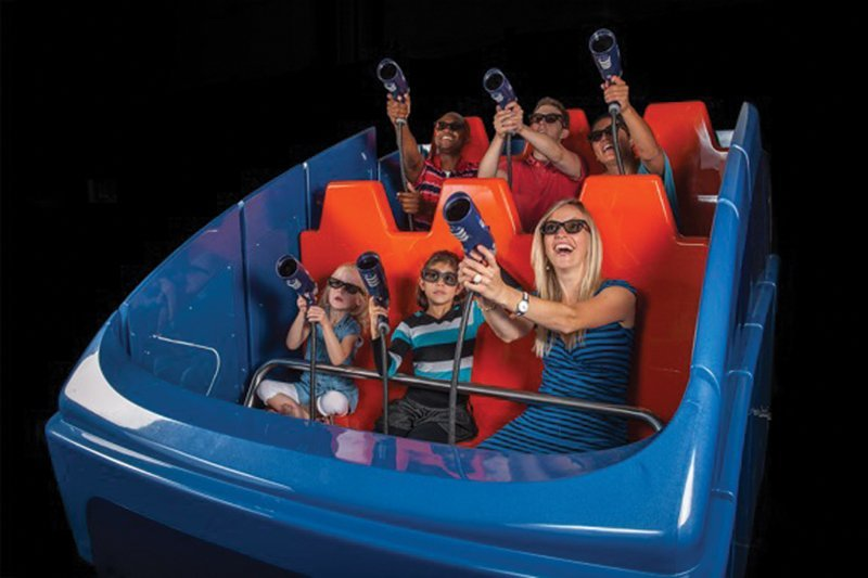 The Interactive Dark Ride: Fun for All, All for Fun