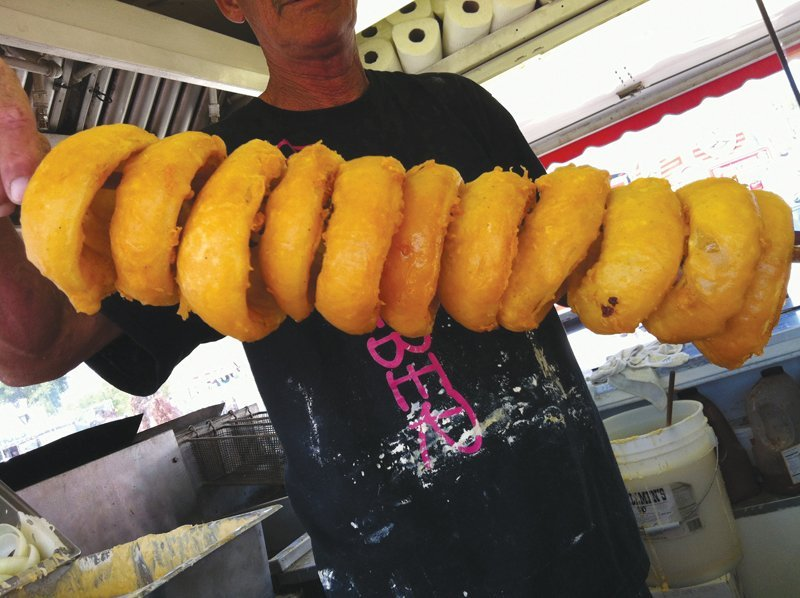 Carnival Food Report <br/>If it's Fried or On a Stick, <br/>the Fair Has It