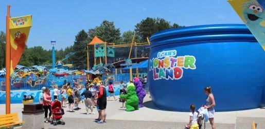 Langhorne, Pa.'s Sesame Place opened Cookie's Monster Land in June, 2014. The section features five rides, a three-story net climb, a soft play area and more.