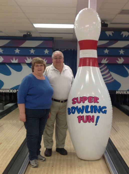 Leslie and Marleen Huikko, owners of Huikko's Bowling and Entertainment Center in Buffalo, Minn. Bowling centers can be especially hazardous to children, which is why supervision is important, Leslie Huikko said.