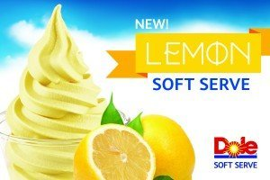 DOLE Offers New  Lemon Soft Serve