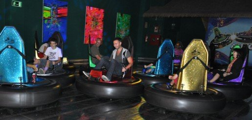 In Madrid, Spain, the bumper cars have increased family traffic and the number of birthday parties at Par 8,000 Mini Golf, according to a spokesman for the attraction.