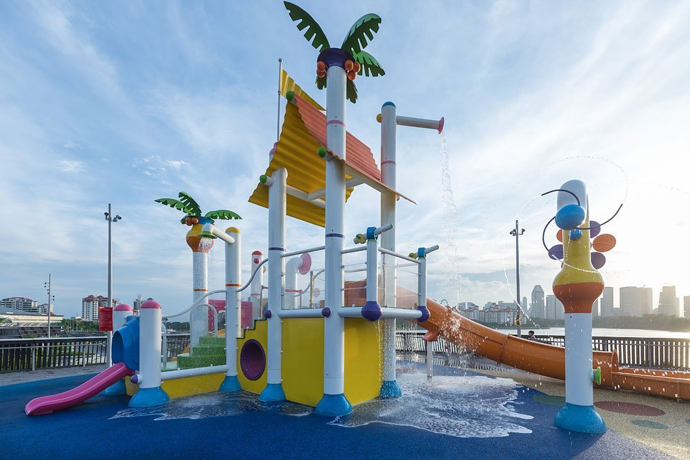 Empex Installs a New Splash Park at Singapore's Sports Hub