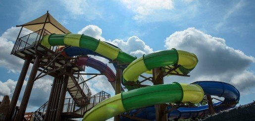 A ride at the Water Mine Swimmin' Hole in Fairfax County, Va. In 2015, the park spent $5.5 million on an expansion to both increase capacity and to appeal to older children and teens.