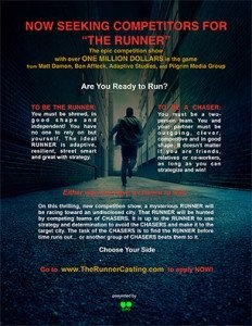 The creators of a new TV series are looking for adult laser tag players to feature in the show.