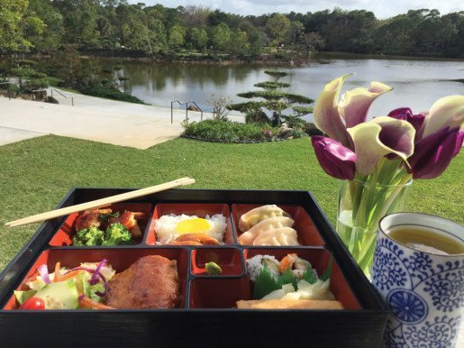 The marketing team at the Morikami Museum & Japanese Gardens creates beautiful promotional food photographs to generate buzz about the attraction's café.
