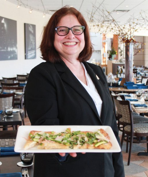 Cathy Mastrolia, front of house manager, Bixby's, the Missouri History Museum in St. Louis, Mo. The restaurant's chef uses fresh, seasonal ingredients as often as possible.