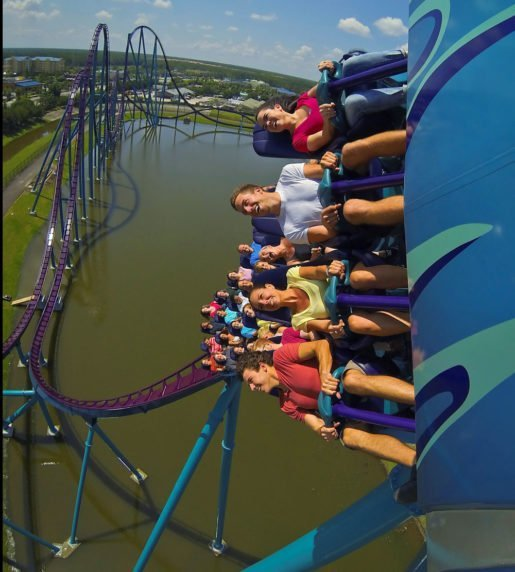 In June 2016, at Orlando's SeaWorld park, guests first experienced the new steel, hyper coaster Mako.