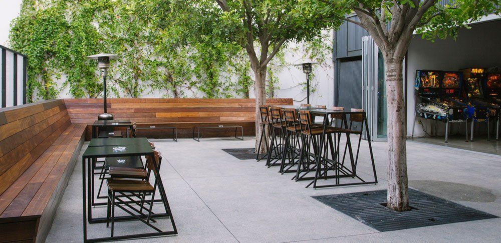 With Games At Right, A Look At An EightyTwo Patio. The Attraction Also  Includes
