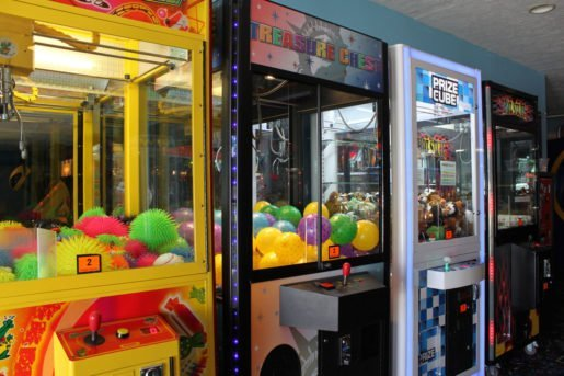 Testing games is important, as a guest may walk away from a malfunctioning machine and never report it, the general manager of Fun 'N' Stuff said. Shown are crane machines at the attraction.