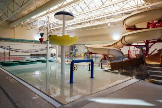 The waterpark at Troy Community Center. The facility welcomes 1.5 million visitors annually.
