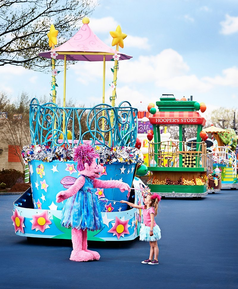 Officials from parks such as Sesame Place are regularly interviewed for TAP. Photo credit: Sesame Place®