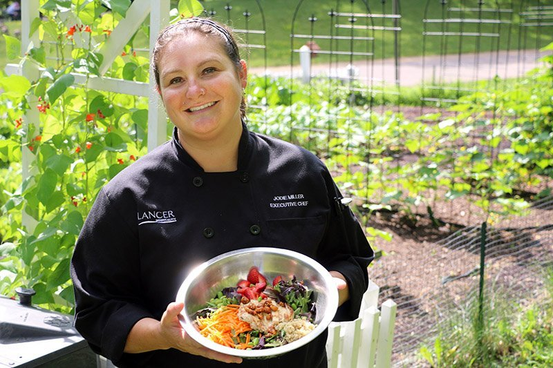 Executive Chef Jodie Miller of the Minnesota Zoo in Apple Valley, Minn. Each issue of TAP contains coverage of the important industry food service segment.