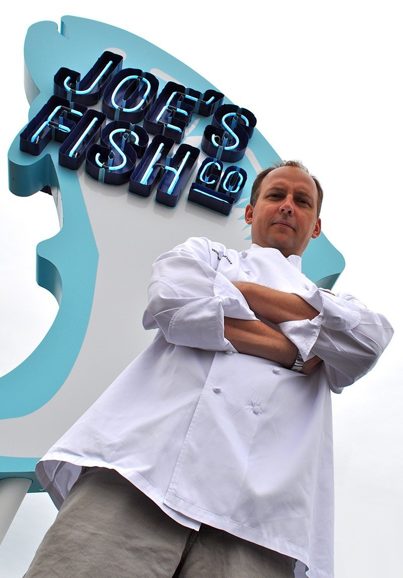 Wally Jurusz, executive chef, Morey's Piers and Beachfront Water Parks in Wildwood, N.J. Jurusz, who was interviewed for an article in the September/October 2016 edition of TAP, continues to see demand for freshness and local food and drink products.