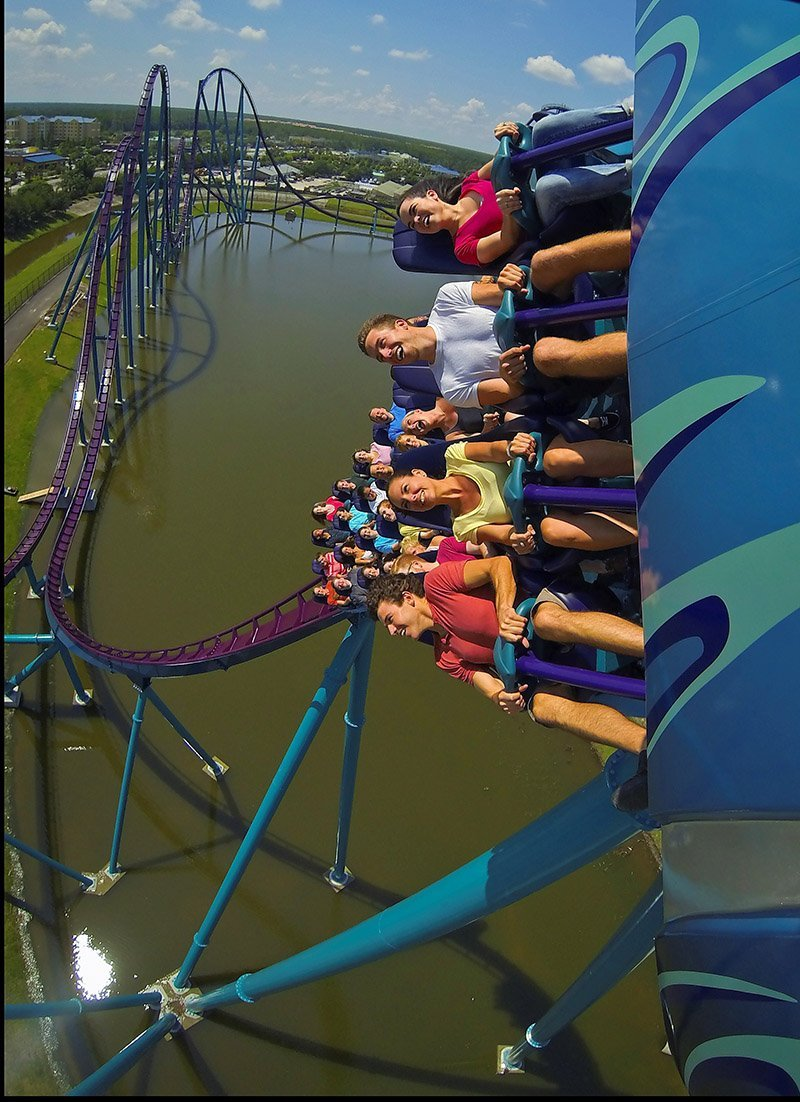 The Mako ride at SeaWorld in Orlando, Fla. The November issue of TAP covered waterparks and amusement parks.