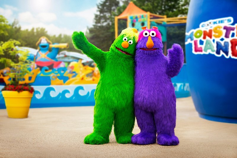 "Costumed characters at Sesame Place. The September/October 2016 issue of TAP included the Amusement Park Report and the story ""Crowd Control - How to Keep Parks Safe and Well Organized – From Food to Rides."" Photo credit: Sesame Place®"