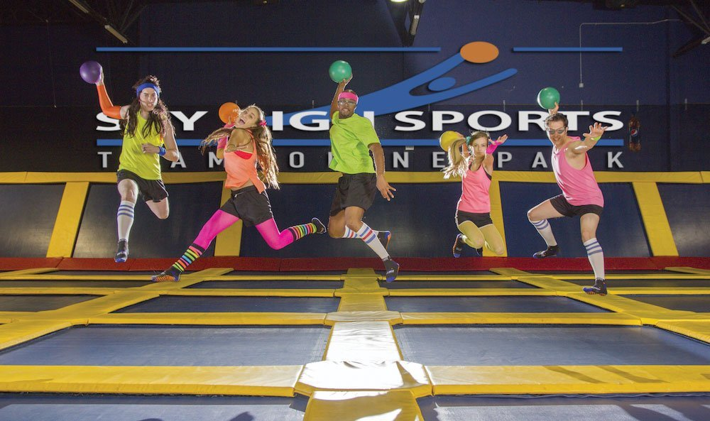 Trampoline Parks <br> Tips for Safer Jumping