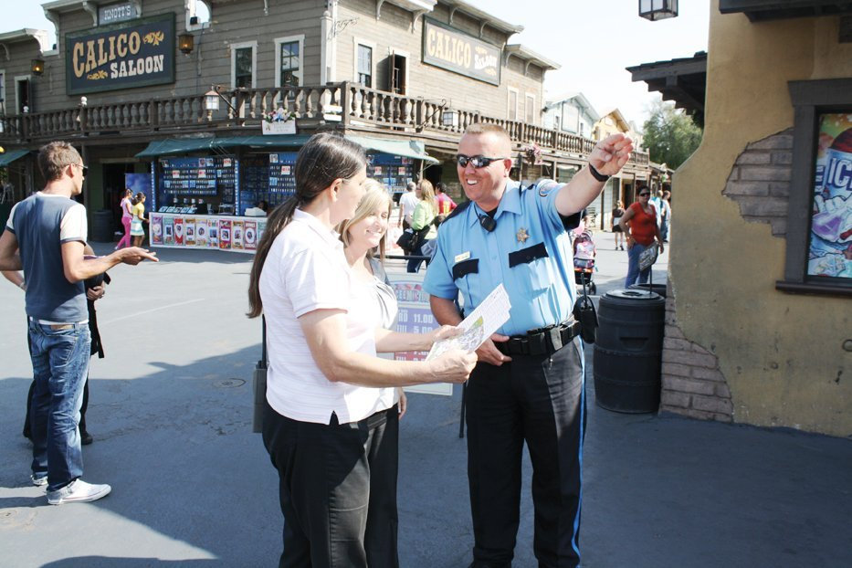 For Amusement Parks, A Visible Security Presence