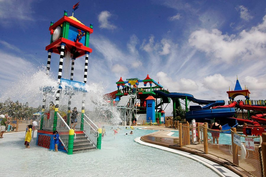 The World's First Lego-themed Waterpark<br>Legoland Waterpark, Carlsbad, Calif.