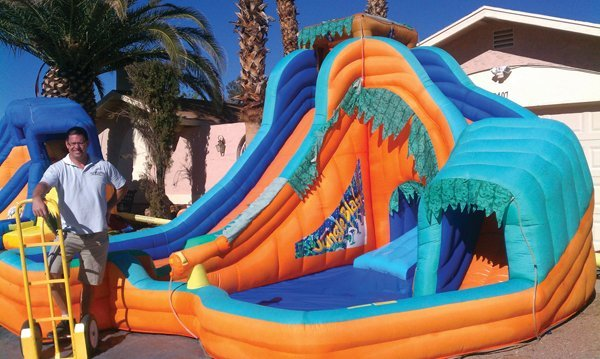 Cool Fun in the Summer Heat <br />Water Inflatables Offer Backyard Thrills