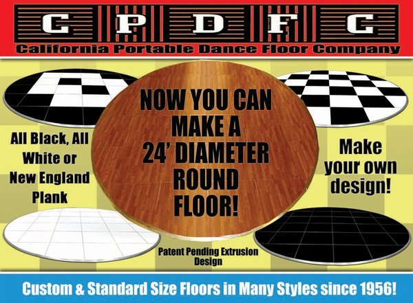 What's New in Portable Dance Floors
