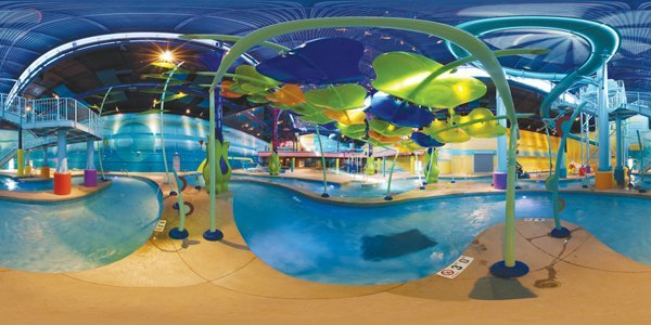 One-of-a-Kind Fun: For Alburquerque, the Sole Indoor Waterpark Is a Solid Hit