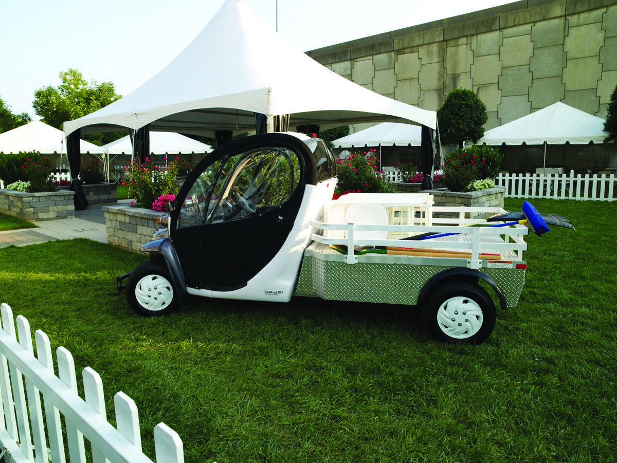 Polaris GEM Premium Electric Vehicles  Ideal for Venue Operations