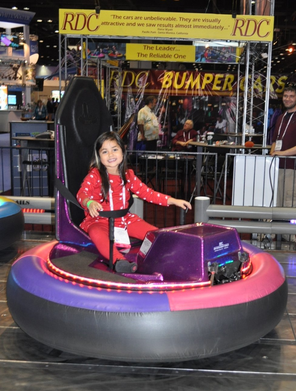 Ride Development Company (RDC) Introduces New LED Bumper Cars