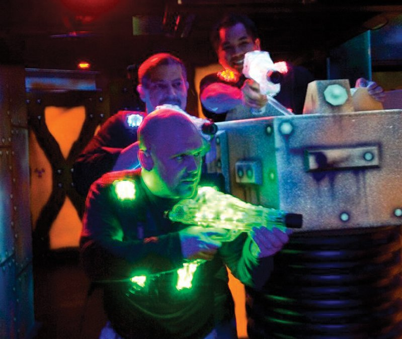 Food and Laser Tag <br/>Top Tips to Zap Hunger and Thirst