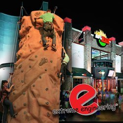 Extreme Engineering Outfits Disneyland's ESPN Zone with a Climbing Wall