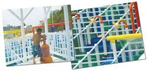 The Aqua Maze™ from Amaze N Mazes™ offers high-quality construction and fun water features.