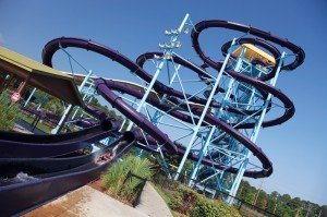 The Turbo Twisters attraction at Myrtle Waves Water Park in Myrtle Beach, S.C., is the facility's most popular ride, according to a park spokesperson.