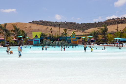 Big Surf Shores at Aquatica SeaWorld's Waterpark™ is one of the largest wave pools in Southern California. Photo by Mike Aguilera/SeaWorld® San Diego