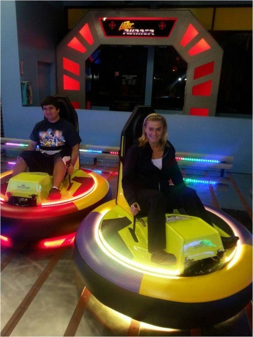 Guests of all ages love the bumper cars at Parkway Bowl/Boardwalk, according to the general manager.
