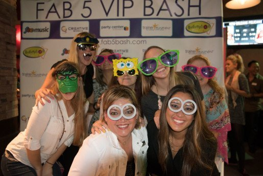 A photo from the FAB 5 VIP Bash. The five partners who hosted the event look forward to continuing the tradition at future trade shows.