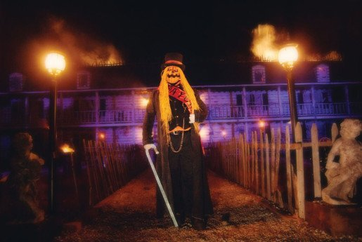 Spookyworld Presents Nightmare New England in Litchfield, N.H., spent over $1.6 million on an expansion last year.