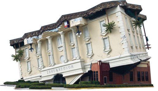An exterior view of WonderWorks, an Orlando-based family entertainment center with five locations. The Outta Control Magic Comedy Dinner Show, a family-oriented event, sells out nearly every night, according to the corporate sales and marketing coordinator for the chain.